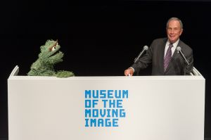 Bloomberg on Sesame Street